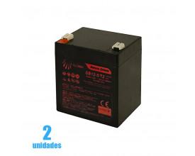 Bateria 12v 5 amperes para guincho Transfer Freedom (Par)