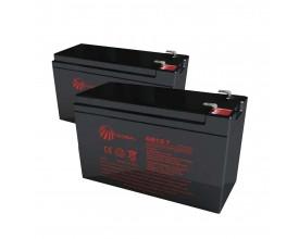 Bateria 12v 7 amperes Par Global