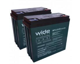 Bateria Selada 12v 25h WidePower