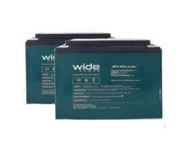 Bateria Selada 12v 58ah WidePower (Par)