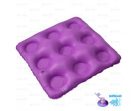 Almofada caixa de ovo quadrada Bioflorence
