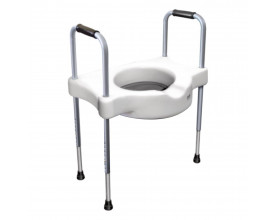 Elevador de assento sanitário c/ alças SIT V Carci
