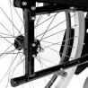 Rodas traseiras removíveis